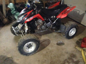 Dvx 400 trade for 4x4 atv
