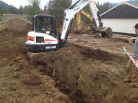 SEPTIC FIELDS - DRAINAGE - EXCAVATION - LAND CLEARING