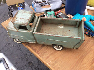 Old Tin Toy Truck