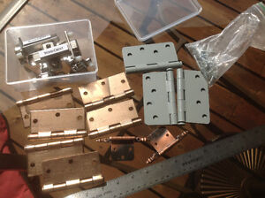 ASSORTED UNUSED HINGES