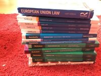 Law revision guides/law books £5