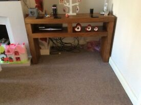 M&S solid wood TV unit/ sideboard
