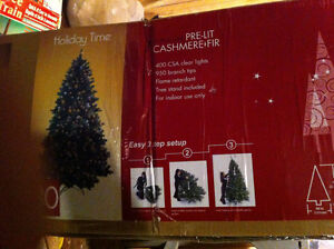 7 Foot Cashmere Fir Chistmas Tree