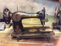 Vintage singer sewing machines up cycling project