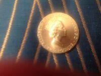 £2 Euro football coin.