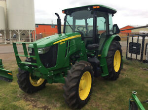 JOHN DEERE 5100E CAB UTILITY TRACTOR 100HP SAVE OVER $22,000.