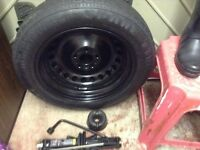 Pirelli spare wheel brand new with jack and ratchet