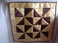 4 brand new square pillow covers