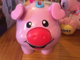 Musical Piggy Bank £5