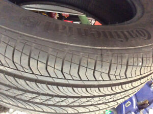 CONTINENTAL TIRES  Contiprocontacts TX. brand new. 4x