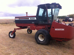 Self Propelled Swather