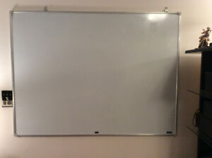 Large Dry Erase Magnetic Board for sale!!