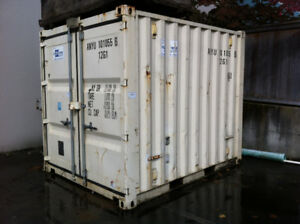 10'  Construction Storage Container