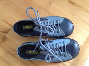 Dr. Martens Blue Leather Clogs New Without Box St. John's Newfoundland image 3