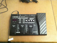 BOSS ME-25 Pedal in MINT condition