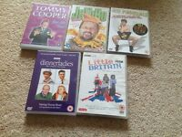 5 Comedy DVD's - various