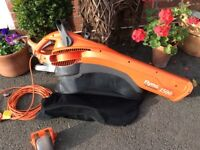 Garden Leaf Blower/Garden Vac. Flymo 1500+