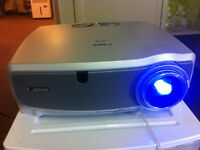 Mega deal canon lv-x6 projector with screen and bracket