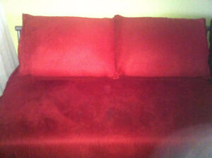 Red Futon/Full Sofa Bed