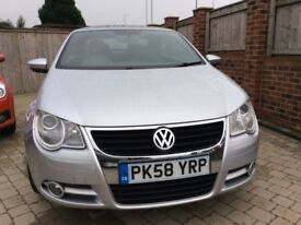 2008 Volkswagen VW EOS tsi 1.4 convertible low miles not golf or polo