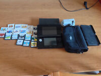 Nintendo 3DS 20 games/case/charger