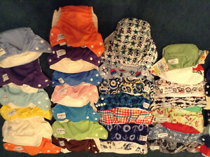 Cloth diaper and accessories