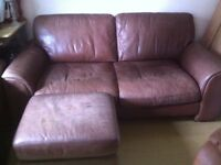 Free sofa,chair and footstool