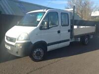 Vauxhall Movano Dropside LWB Crew Cab 2.5CDTI 16v ( 120ps ) LWB 3900