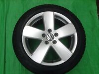 """17"""" VW PASSAT SPORT B6 MONTE CARLO (5 SPOKE) ALLOY WHEELS PCD 5X112 FITMENT"""