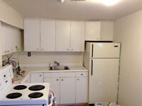 Bright Basement One Bedroom available Sept. Collison Ave.