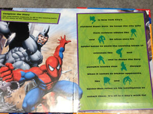 Spider-Man magnet book