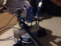 "Mastercraft 10"" sliding power miter saw"