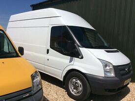 2013 , 63 plate ford transit
