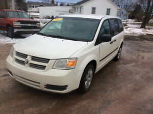 2008 Dodge Cargo Grand Caravan C/V factory built 145 kms