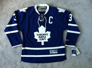 New Maple Leafs AUTHENTIC NHL Reebok Hockey Adult Jersey PHANEUF