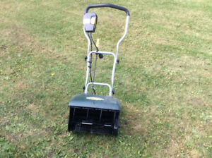 Yardman Electric snow thrower 16 inch wide  10 Amps