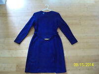 Women's dress (knitted fabric), medium size (EUR size 44)