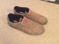 Evisu casual suede shoes size 7