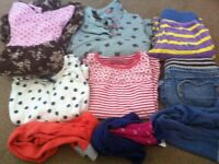 Bundle of girls clothes 4-5 boden joules fat face