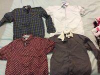 Boys Shirts age 8/9- 2 Designer