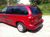 2006 Dodge Caravan CERTIFIED and ETESTED  189000kms