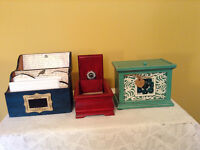 Picture and Momento Boxes