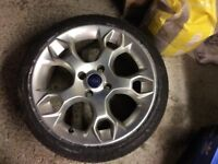 Ford Fiesta 17 inch alloy wheel