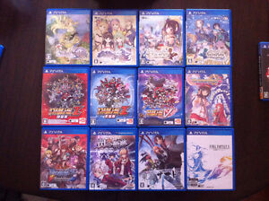 Japanese/English PSV games for sale