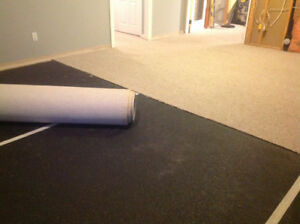 High Quality Berber Carpet with 7-8lbs Underlay in Excellent Con