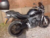 Yamaha FZ6 600cc 12 months mot ready to ride lovely bike