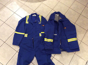 Indura Fire Resistant Insulated Parka & Overalls  ( 44-46)