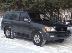 2000 Toyota Land Cruiser SUV, Crossover