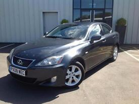 Lexus IS 220d 2.2TD SALOON DIESEL, 2 PREV OWNERS FSH, 2008 08 REG IN VGC