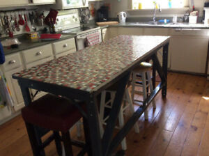 Large kitchen island/ counter